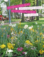 Plaquette des Espaces Verts de la ville d'Aulnay sous Bois