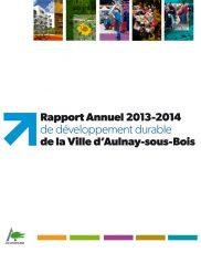 Rapport annuel 2013-2014 de développement durable de la ville d'Aulnay-sous-Bois