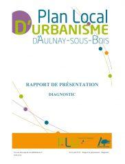Diagnostic - PLU Aulnay-sous-Bois