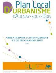 Orientations D'aménagement et de Programmation Plu d'Aulnay-Sous-Bois