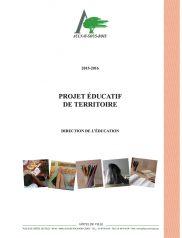 Projet éducatif de territoire 2015-2016