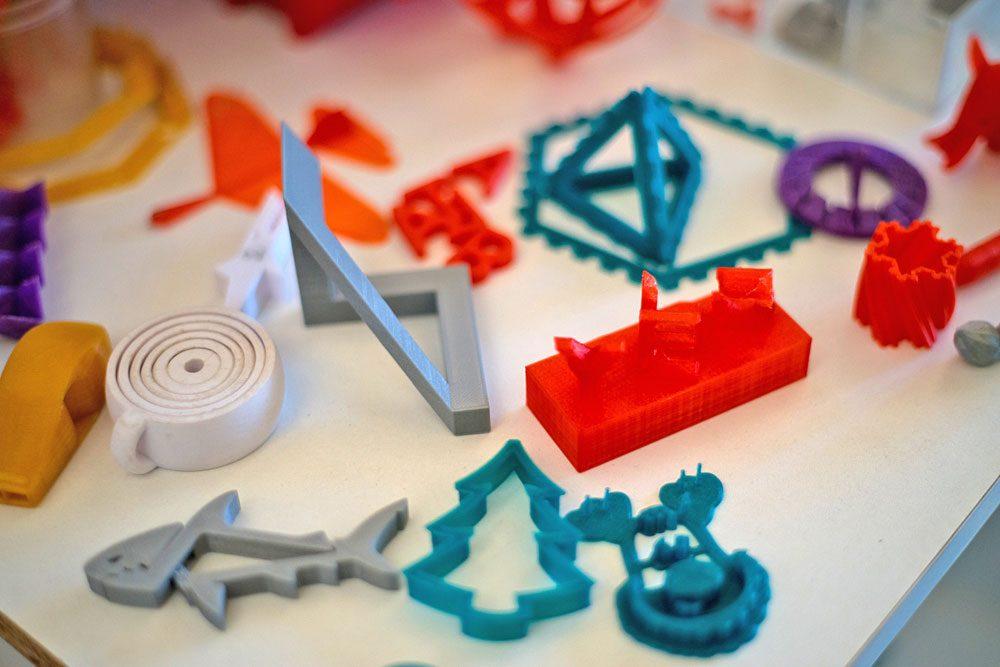 Objets fabriqués grace à une imprimante 3D