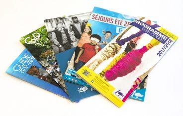 plaquettes et brochures