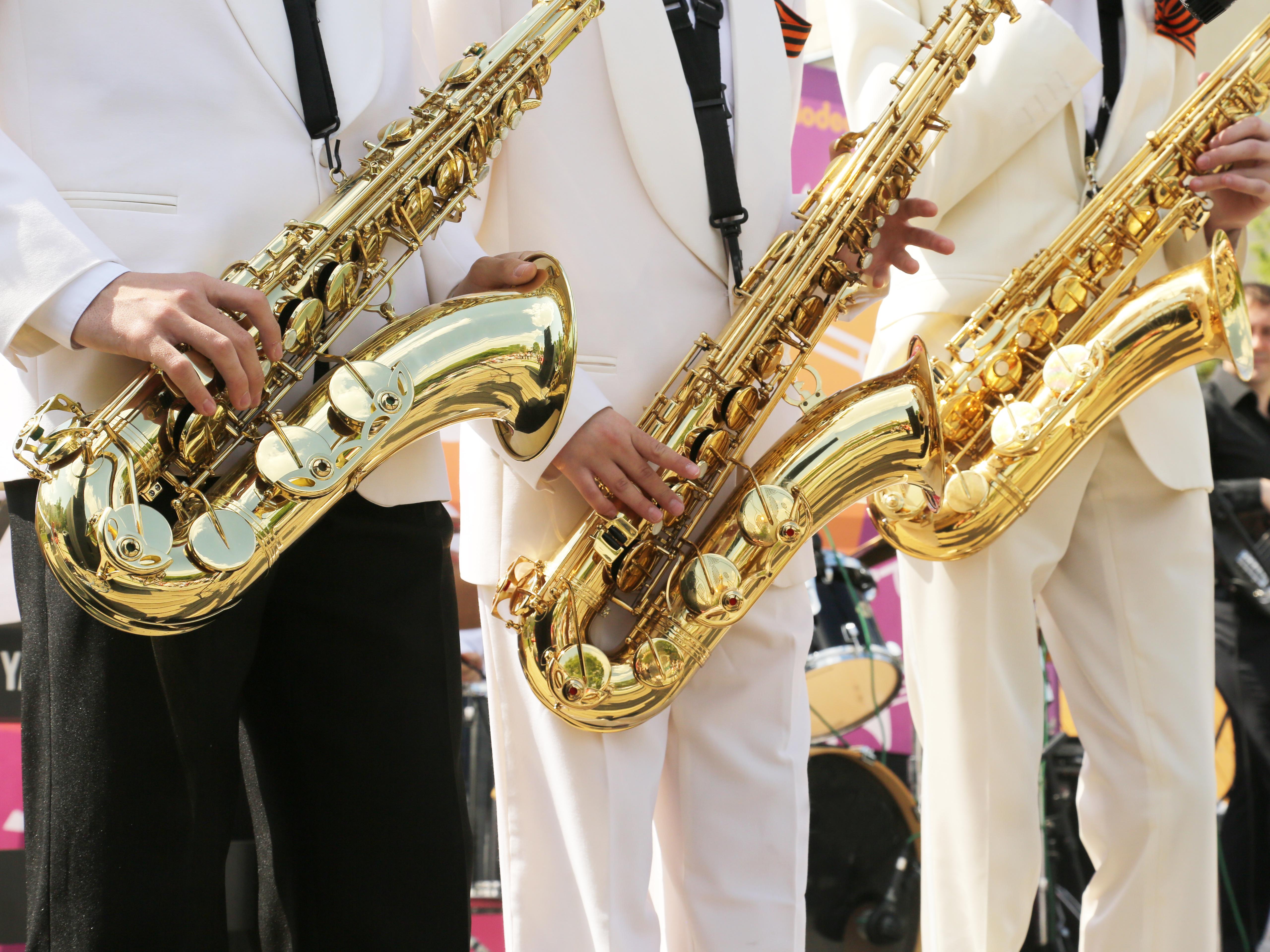 photo de saxophone