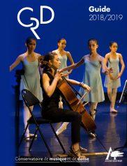 Guide du conservatoire du musique et de danse 2018-2019