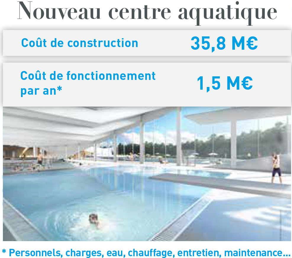Nouveau centre aquatique