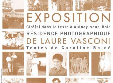 Affiche de l'exposition Laure Vasconi