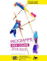 EACM programme des Cours 2018-2019