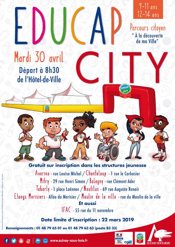 affiche educap city