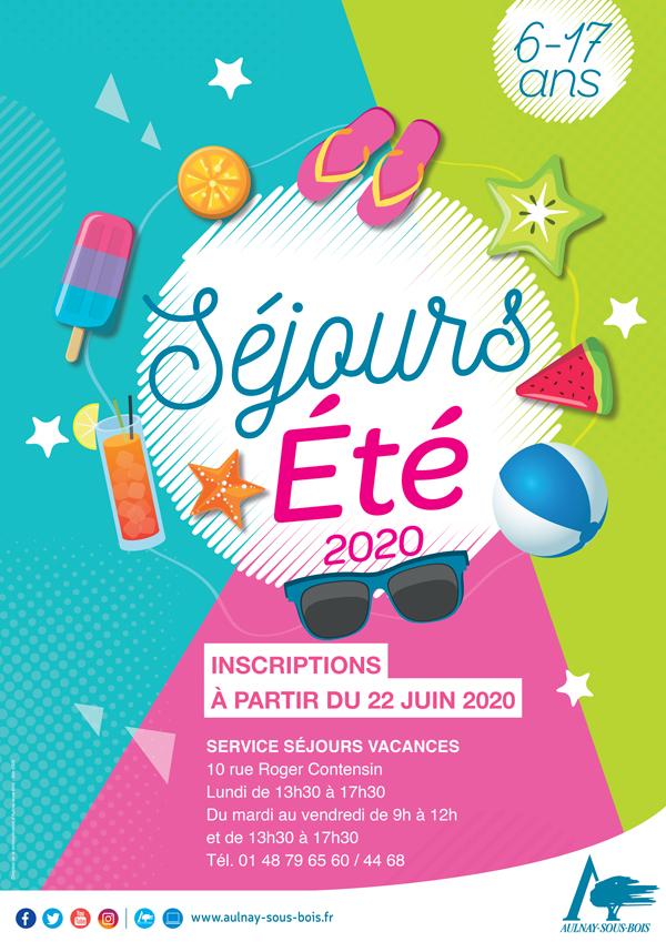 SEJOURS ETE 2020