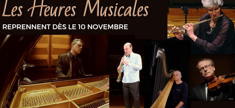 Les Heures Musicales reprennent