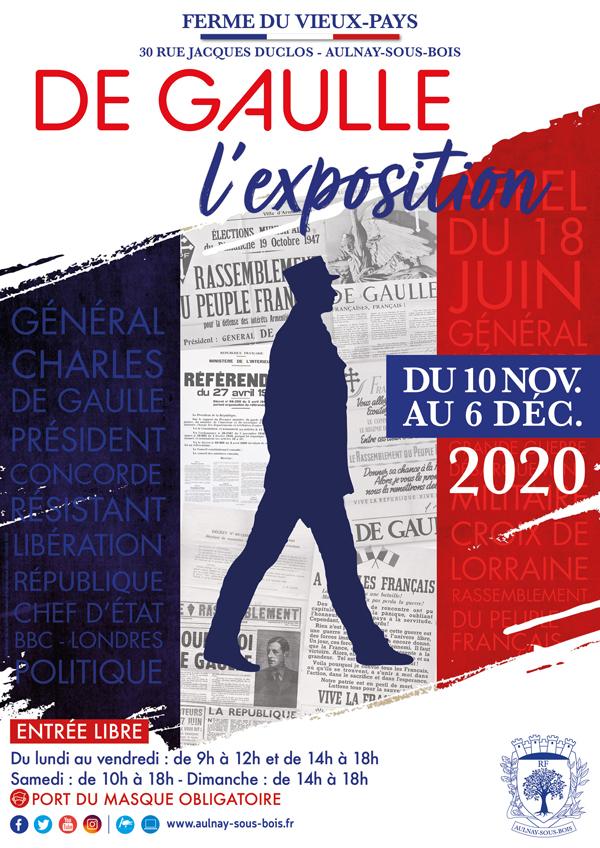 Exposition De Gaulle affiche