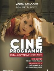 Programme cinéma Novembre 2020