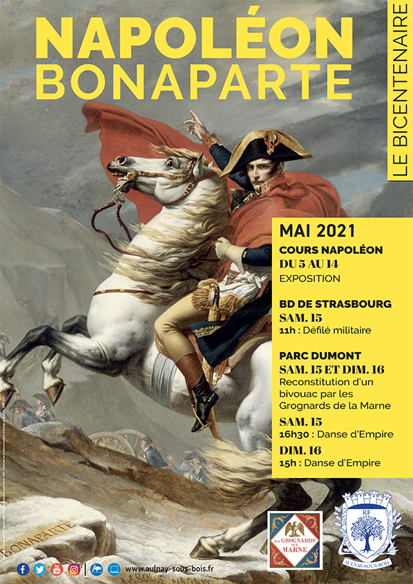 Exposition Napoléon Bonaparte – Le bicentenaire