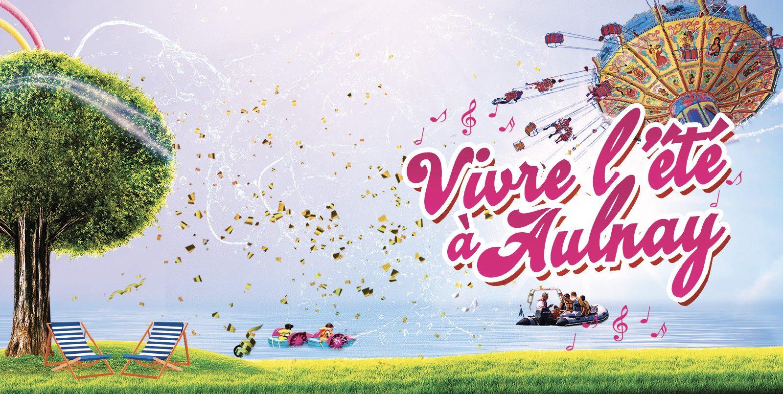 Vivre l'été à Aulnay Juillet/Août 2021