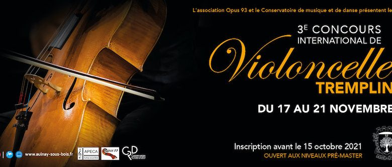 """Concours International de Violoncelle """"Tremplin"""""""