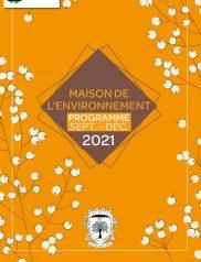 MDE Programme Septembre - Décembre 2021